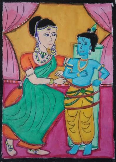 painting by Rucha Damle
