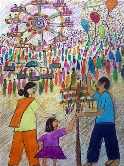 painting by Shreyans Shah