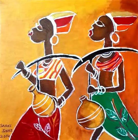 painting by Sahaj Sohi