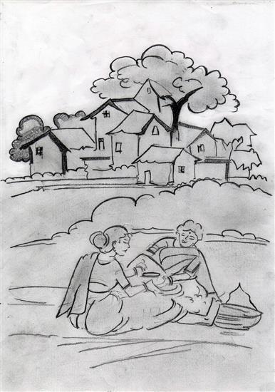 painting by Sarang Kannurkar