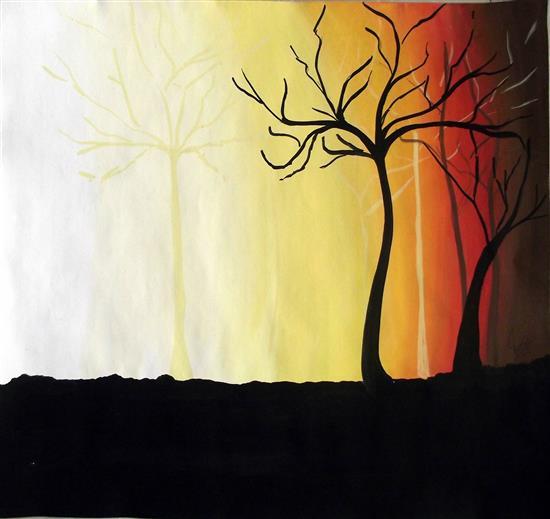 painting by Shourya Paralkar
