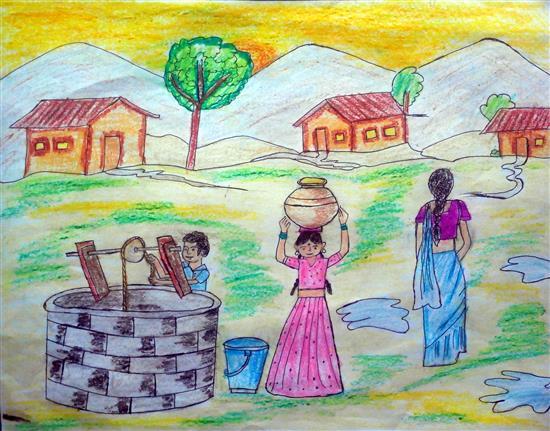 painting by Shreya Navale