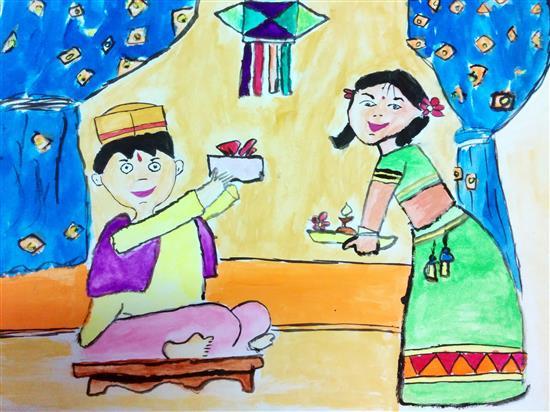 painting by Tanmay Saukur