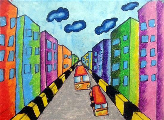 painting by Tisha Mihir Shah