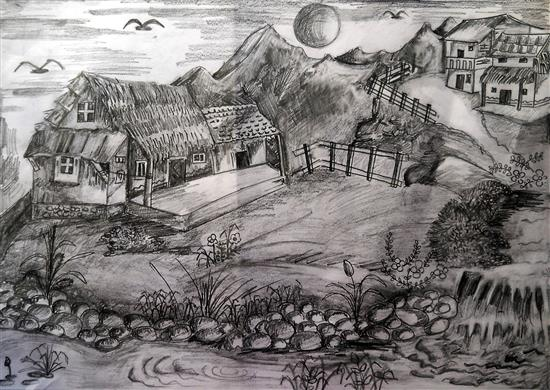 painting by Vedant Parte