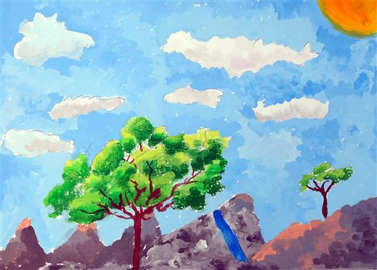 painting by Vihaan Oberoi
