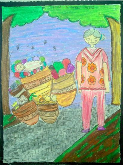painting by Yutika Damani