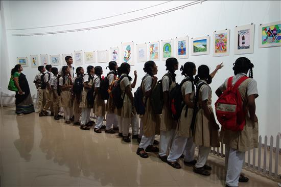 School visit to the exhibition