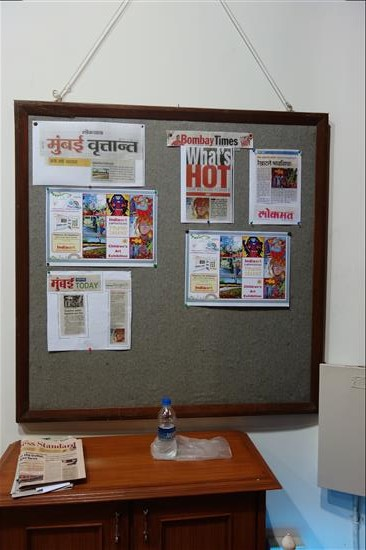 The exhibition received good media publicity