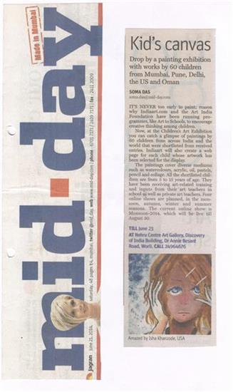 Mid - day - 21 June 2014