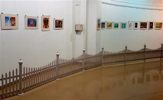 Children's Art Exhibition - Nehru Centre, Worli, Mumbai
