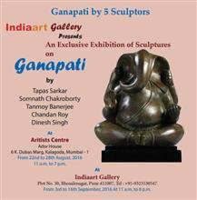 Invitation for ganapati exhibition of bronze sculptures of ganesh invitation ganapati an exclusive exhibition of 51 bronze sculptures of ganesha by five sculptors brochure stopboris Choice Image
