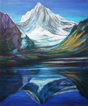 Himalayan Odyssey, Paintings by Kishor Randiwe