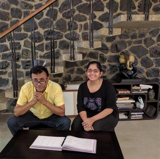 Anurag and Ankita Athalye at Indiaart Gallery