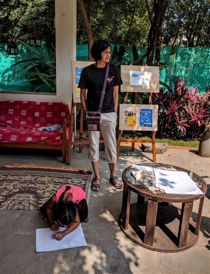 Dr. Leelavati Narlikar at Indiaart Gallery