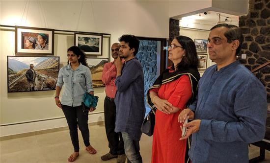 (L to R) Saniya Godbole, Jayant Godbole, Suvrat Joshi, Dr. Mrs. Manjusha Mardikar and Dr. Mardikar