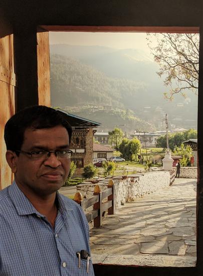 Sanjay Mayekar at Milind Sathe's photography show at Indiaart Gallery
