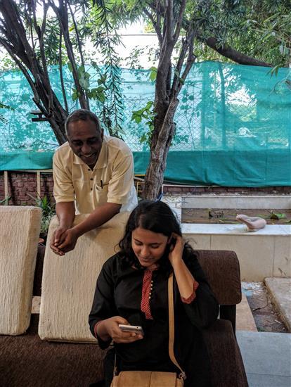 Sanjay and Arundhati Kalkar at Indiaart Gallery