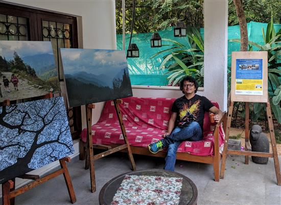 Yatin Gadgil at Indiaart Gallery