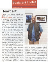 Media coverage for My pictures with their little stories by Milind Sathe (Mumbai)