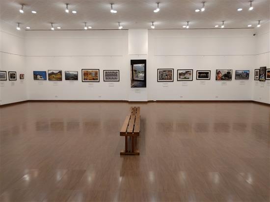 Display at Milind Sathe's solo photography show at Nehru Centre, Worli, Mumbai - I