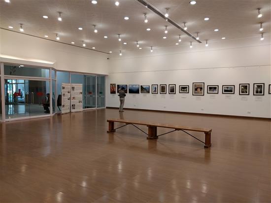 Display at Milind Sathe's solo photography show at Nehru Centre, Worli, Mumbai - III