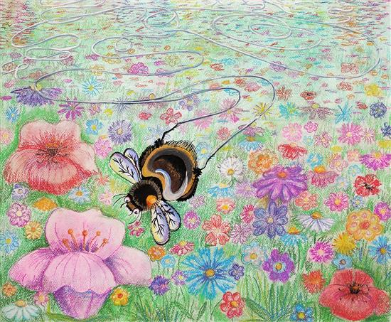 Painting by Russian child artist - 6