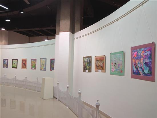 Russian Children's Paintings Exhibition at Nehru Centre, Mumbai Nov 2016