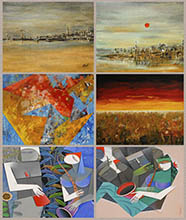 TRIO, Paintings by Pradip Sarkar, Nirmal Pathare, Vinay Sane