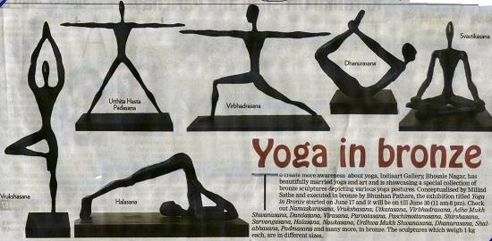 Yoga in Bronze