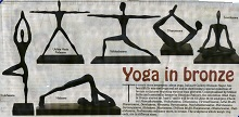 Media coverage for Yoga in Bronze