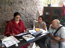 Watercolour Painting Workshop at Indiaart Gallery