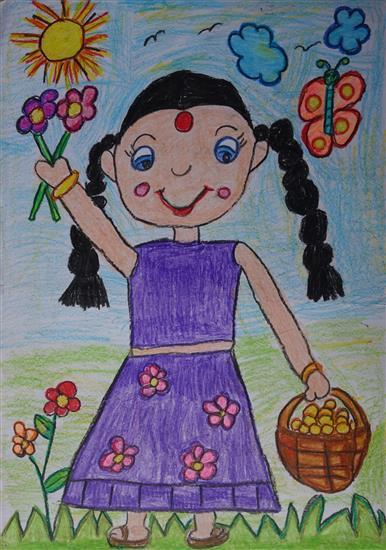 Shambhawi Vermaa (5 years), Greater Noida, Uttar Pradesh