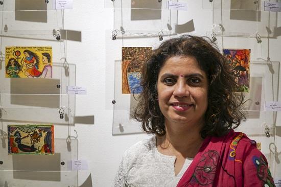 Swati Kunte at Indiaart Gallery