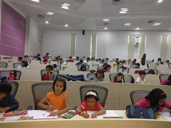 Khula Aasmaan workshop at Infosys, Pune