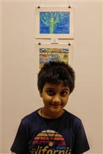 Aarav Kanekar talks about his silver medal winning painting in Khula Aasmaan contest