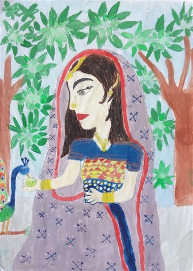 Anuri Madhuashis  (8 years), Dungarpur, Rajasthan