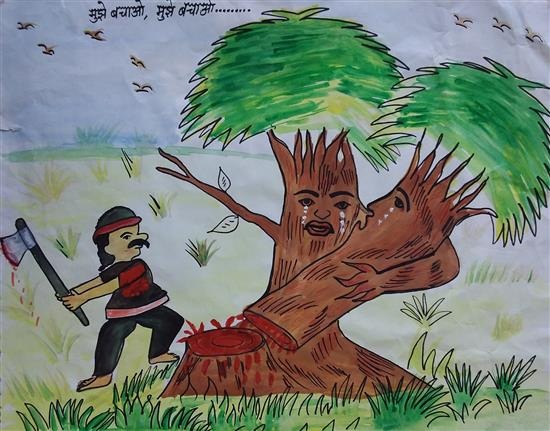 Diksha (10 years), Ramnagar, Uttar Pradesh