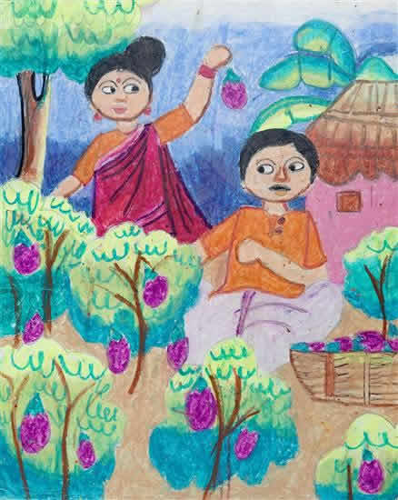 Pratyasha Paul(12 years), Agartala, Tripura