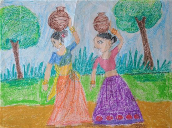 Aliya Ahmed (8 years), Thane, Maharashtra