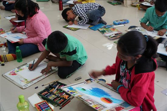 Science Day painting contest - 2