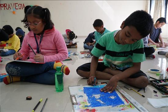 Science Day painting contest - 5