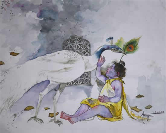 painting by Ananya Choudhary
