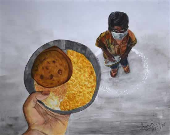 painting by Harvi Patel