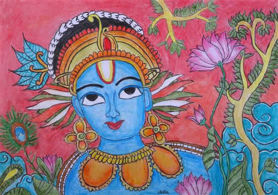 painting by Anika S Nair