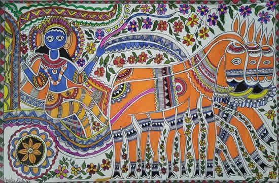 painting by Anshu Dahiya
