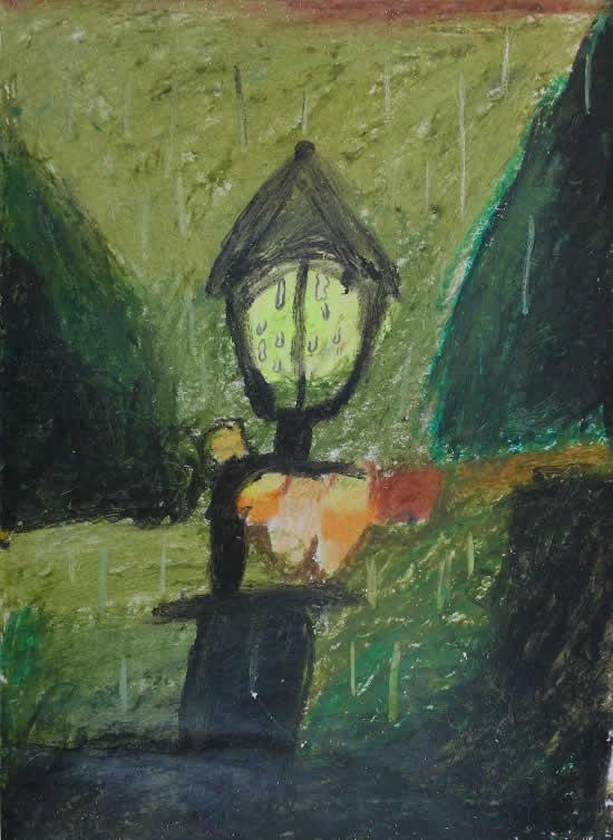 painting by Manideep Sarkar