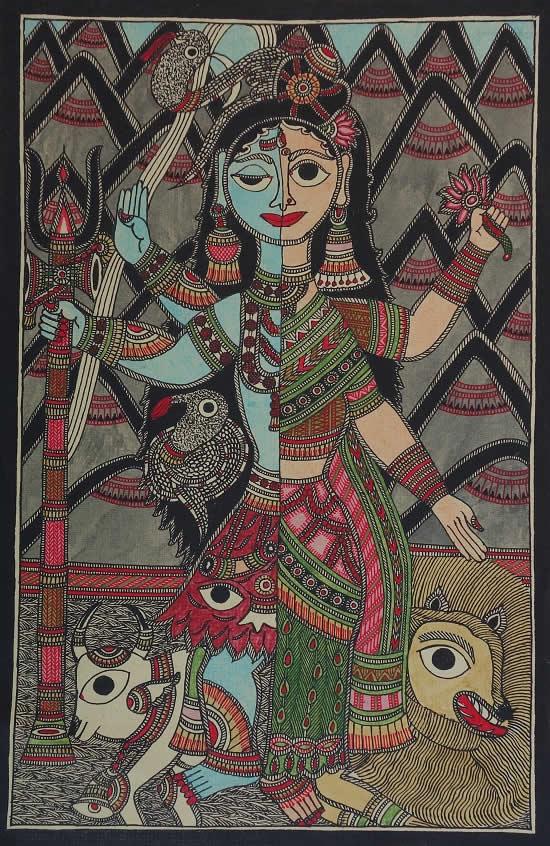 painting by Ravi Kumar Dutta