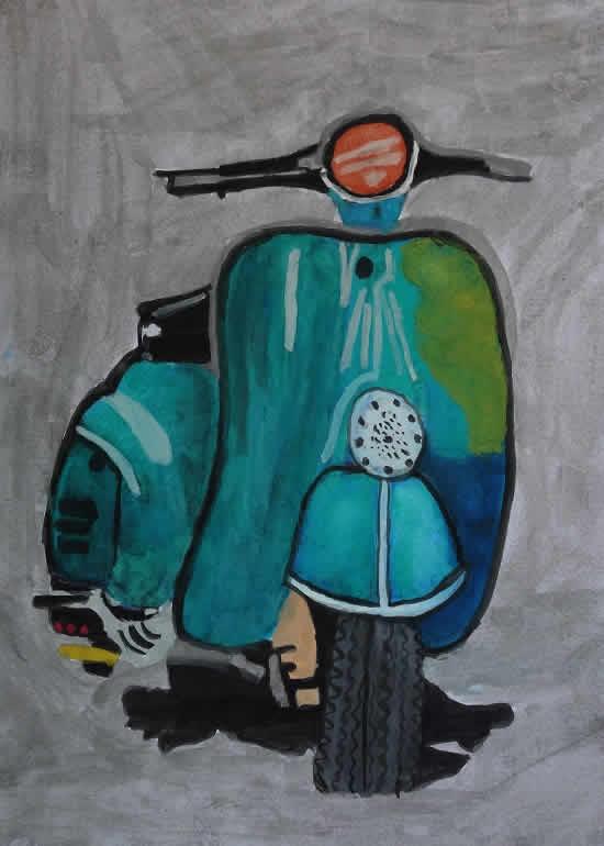 painting by Rishabh Sharma