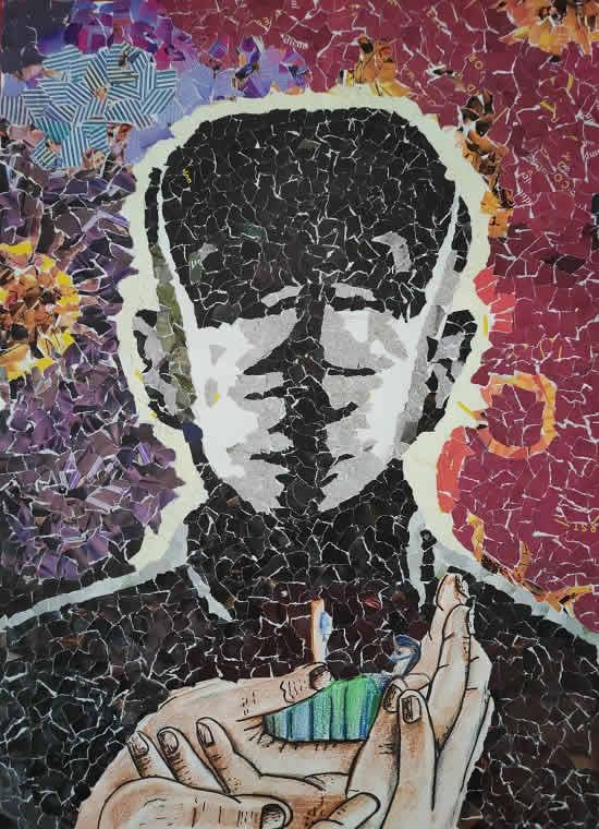 painting by Sanuj Sahw